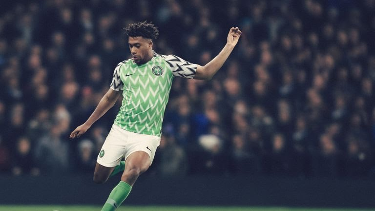 Nigeria's 2018 World Cup home kit
